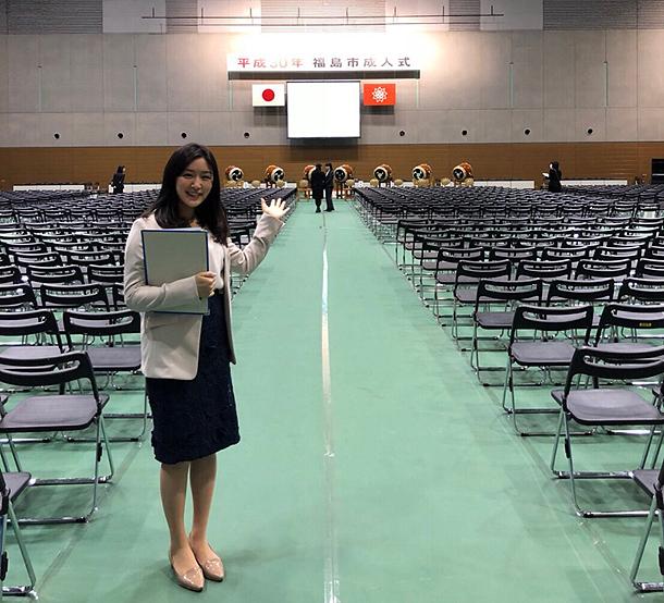 福島市成人式の司会を担当しました~!